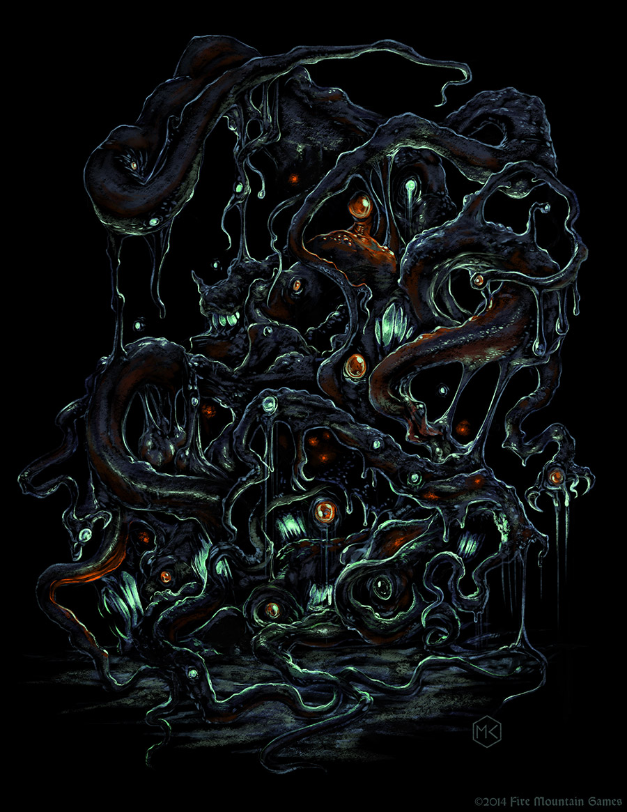 Shoggoth by SpiralMagus