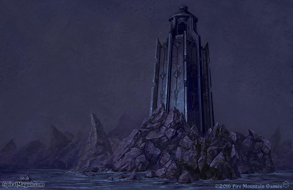 Isle of Jaan-Jatha by SpiralMagus
