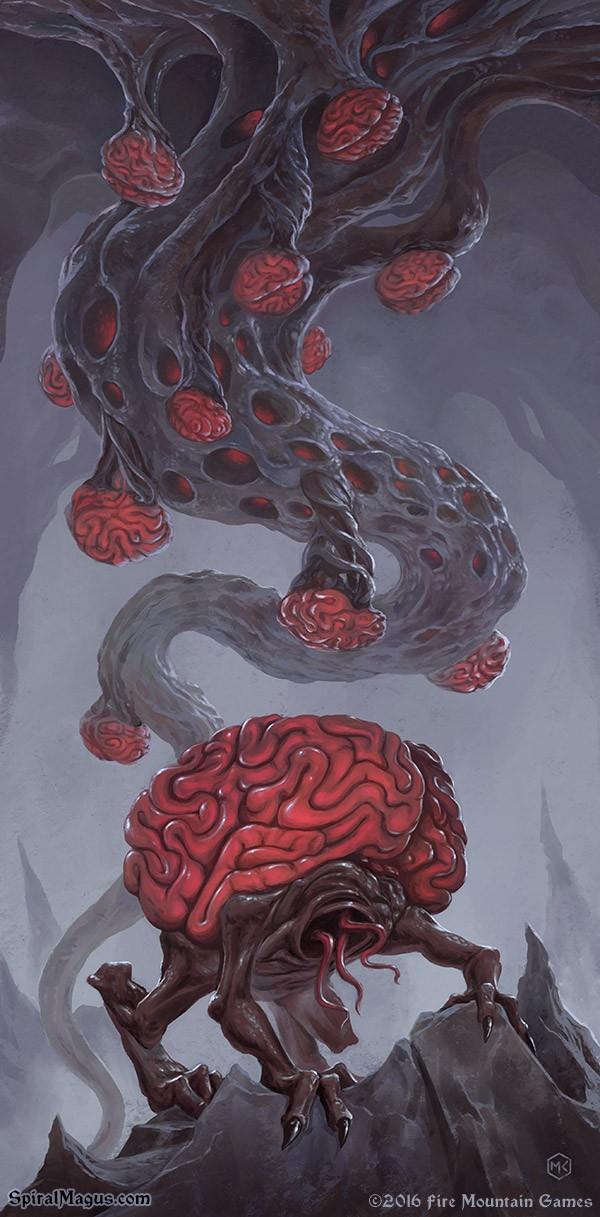 Intellect Devourer Stalk by SpiralMagus