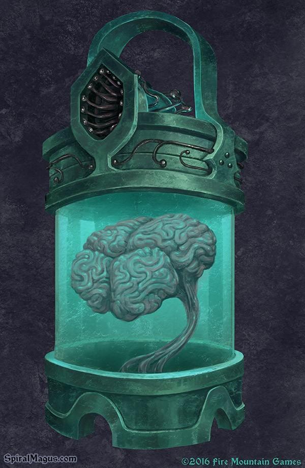 Brain Case by SpiralMagus