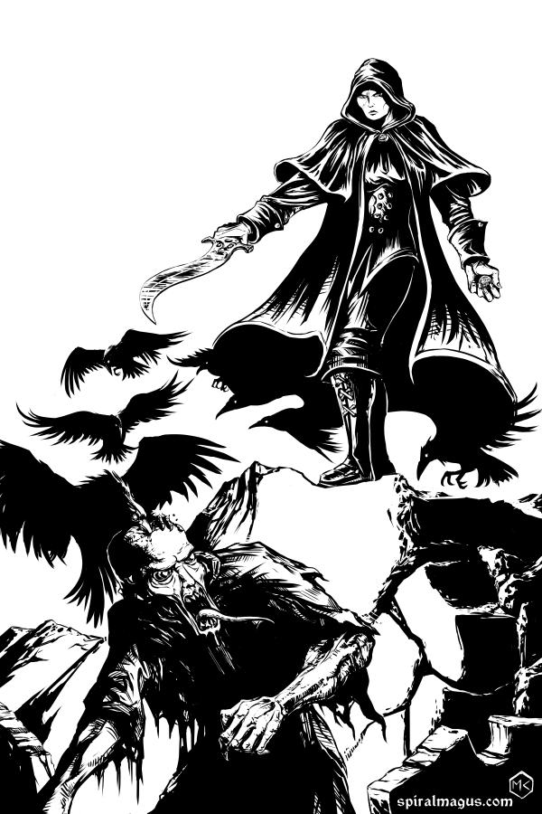 Dark Trails Sin Eater by SpiralMagus