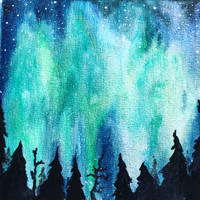 Northern Lights by LaraDemes