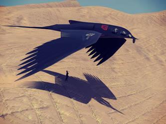 Ornithopter o/ Fremen Dune stabilization project by Alex-Brady-TAD