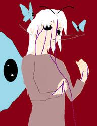 Hakumo the buterfly demon true form