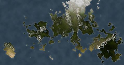Practice World Map 3 by TitaniumDragon
