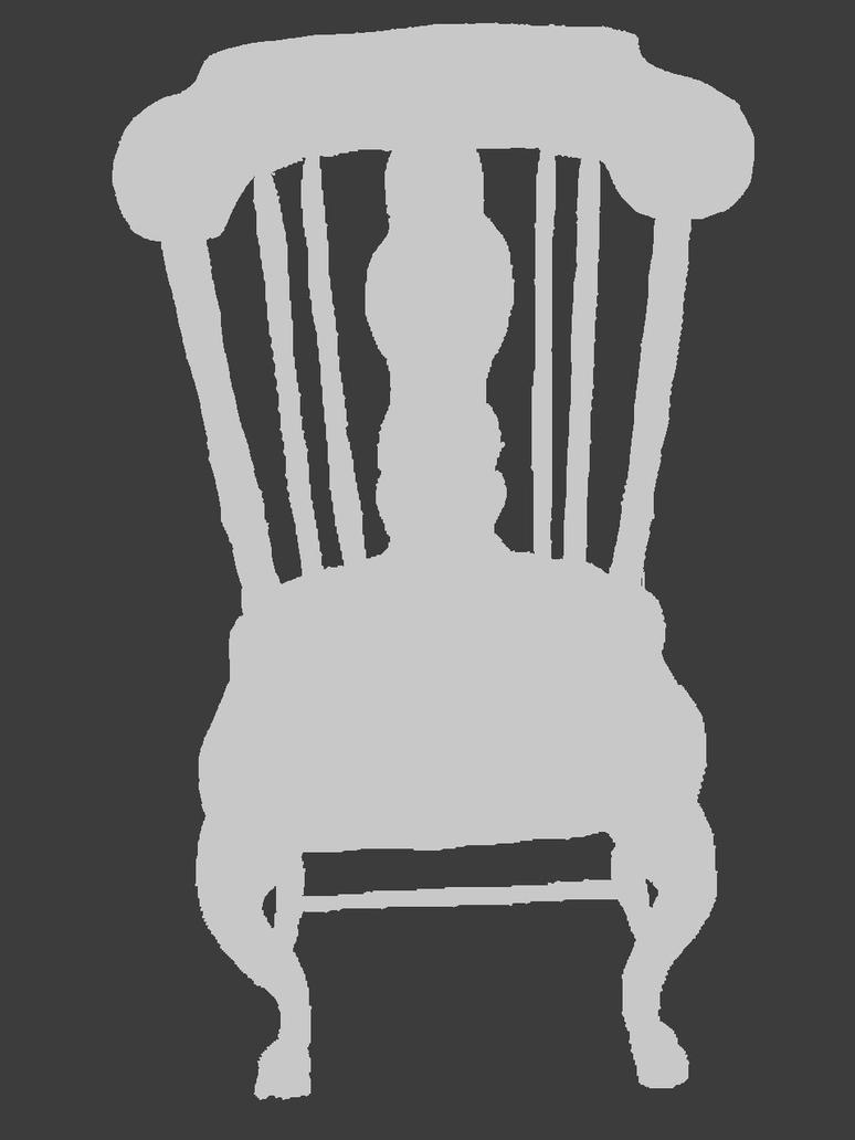 chair negative space by titaniumdragon on deviantart
