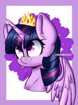 Twilight Sparkle - [Fusion of two styles]