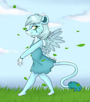Angelica -  [Commission furry]