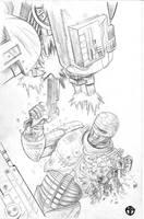Robocop WIP by BrettBarkley