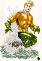 Aquaman by BrettBarkley