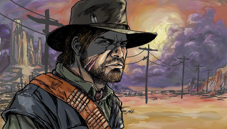 Red Dead Redemption by BrettBarkley
