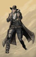 Cowboy by BrettBarkley