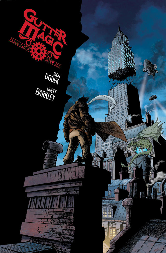 Gutter Magic Issue 1 Cover