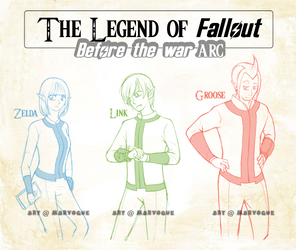 The Legend of Fallout: Before the war ARC by MarVogue