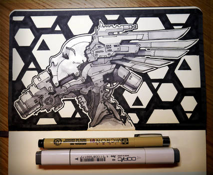 INKtober: Cyberhead