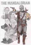 The Mandalorian Poster #2 by NomiDarklighter