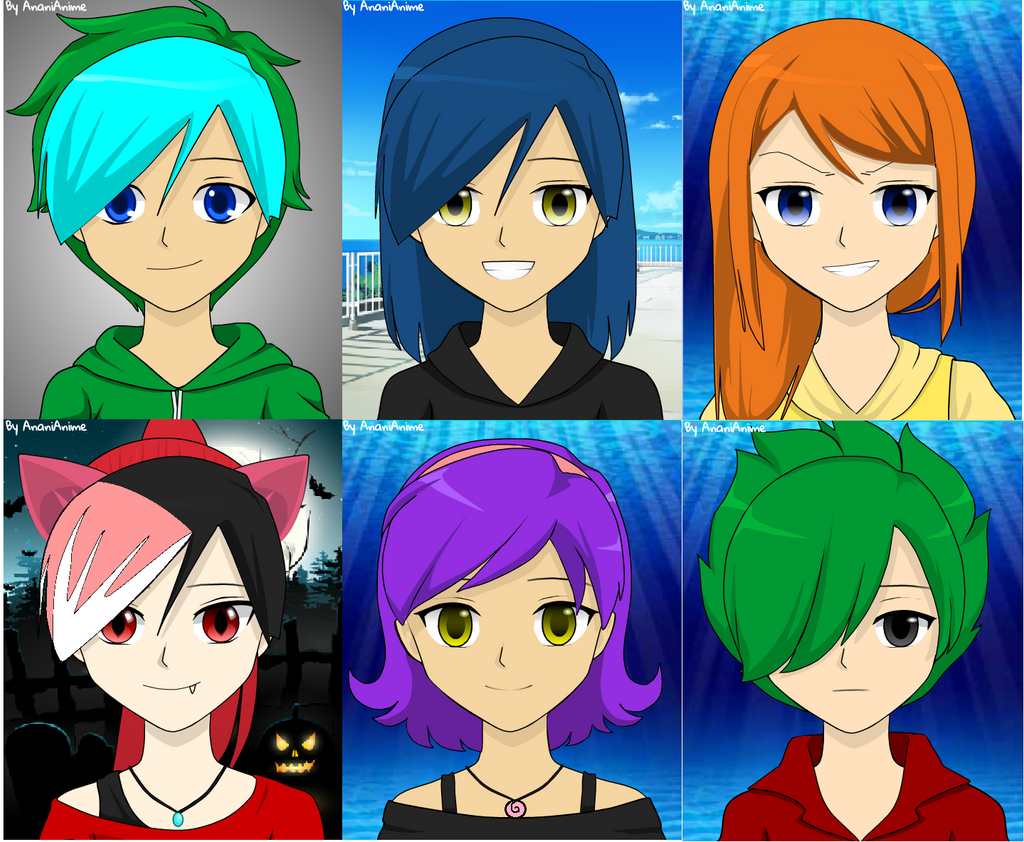 Sonic Anime Characters : My sonic ocs as anime characters by mzswift on deviantart