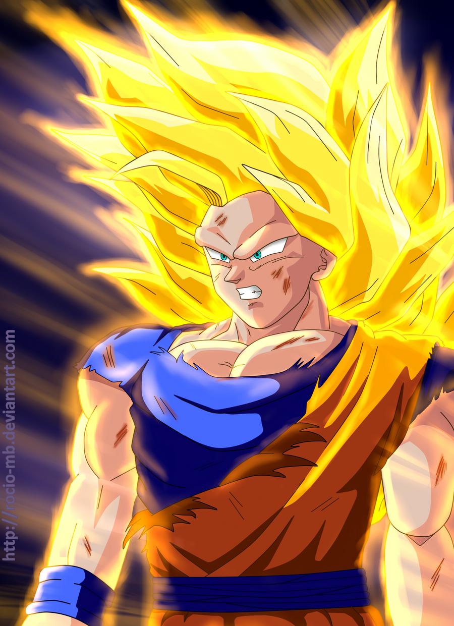 Goku Full Power by rocio-mb