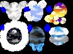 Cloud Themed Eggs [CLOSED]
