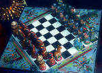 Peruvian chess game by VasiDragos
