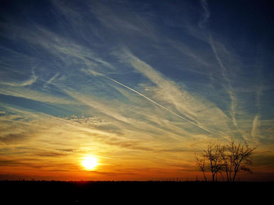 Sunrise path by VasiDgallery