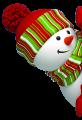 cute snowman1 by VDragosPhotography