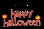 Happy Halloween text 1 by VasiDragos