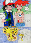 Ash x Misty Doujinshi: Love and Courage Page 1
