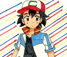 Pokemon Movie 21: Ash Ketchum by Kisarasmoon