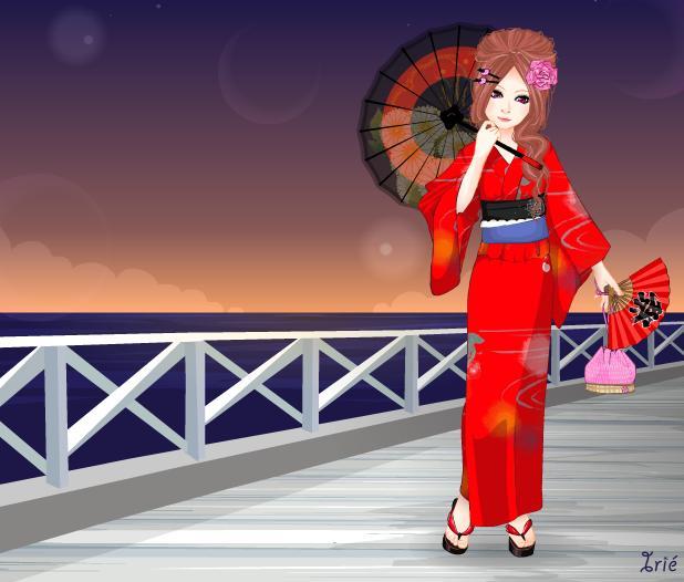 Kimono Dress-Up by NikolitaNiko