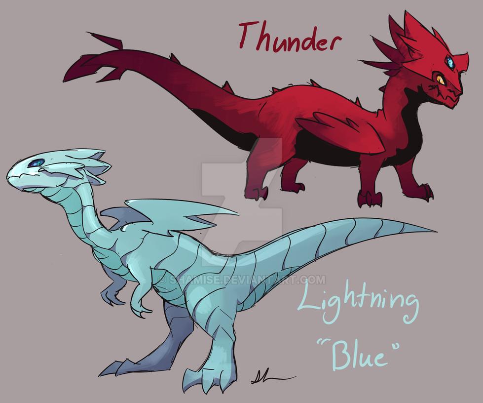 Thunder and Lightning by Shamise