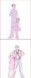 LT comic draft by MaliceAndMacarons