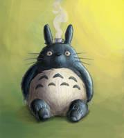 Totoro by heatherbunny