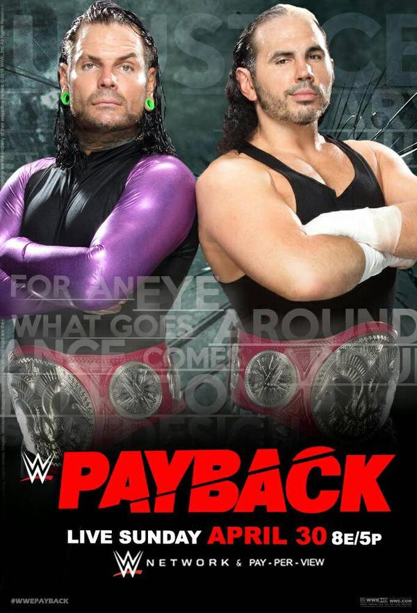 payback 2017 poster hardy boyz by uratg