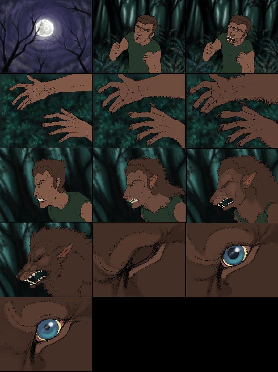 Werewolf Transformation Animation Werewolf Transformatio...
