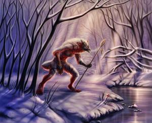 Silent Cold Huntress