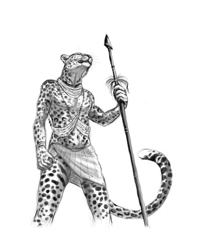 Leopard Warrior by Maquenda
