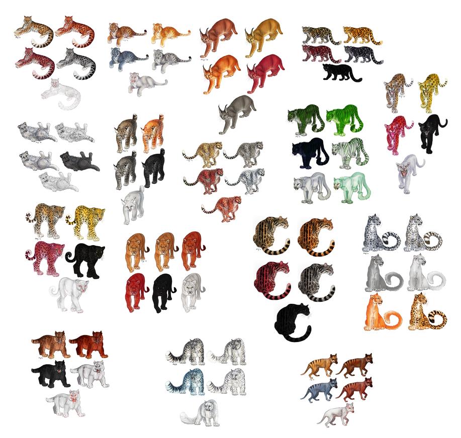 CatsCatsCats by Maquenda