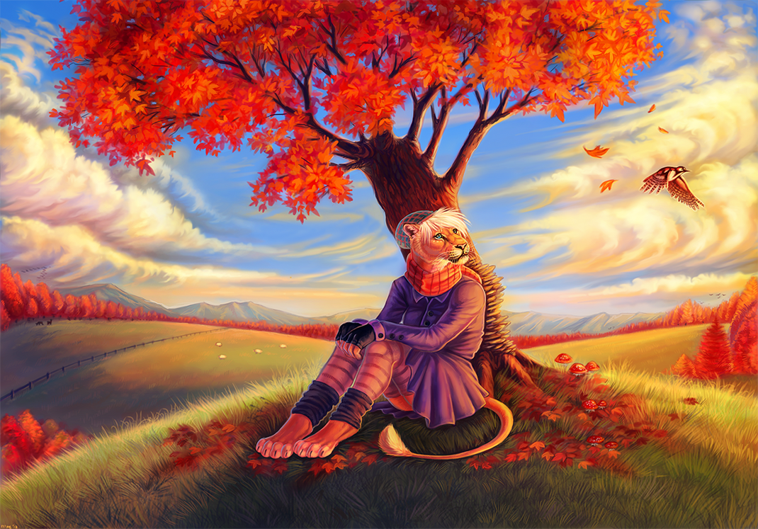 Autumn Dream by Maquenda on deviantART
