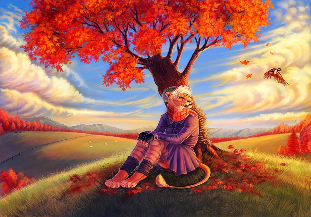 Autumn Dream by Maquenda