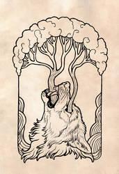 Yggdrasil by Maquenda