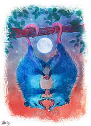 Possum Love by Maquenda