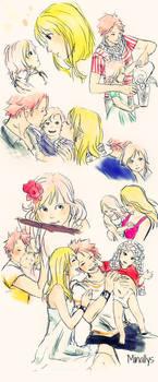 .:Natsu, Lucy and Nashi:.