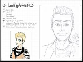 OC Request: LovelyArtist23 by bsienk