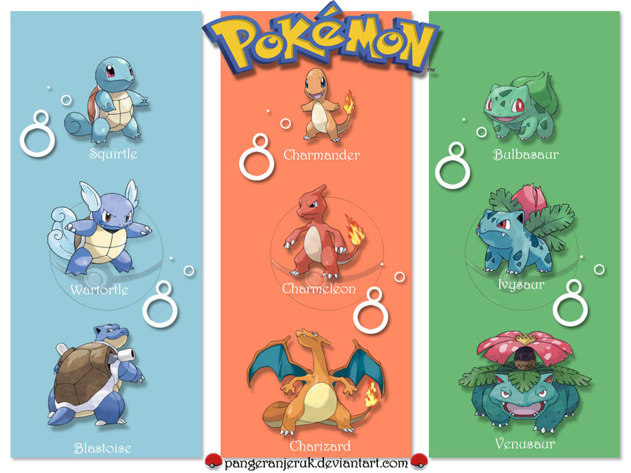 pokemon fire red how to get all starters