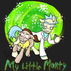 My Little Morty by HazardousHeart