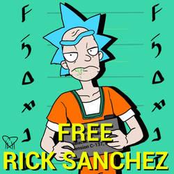 Free Rick Sanchez Mug shot by HazardousHeart
