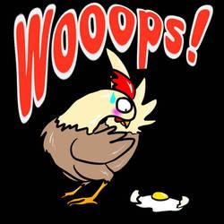 wooops egg by HazardousHeart