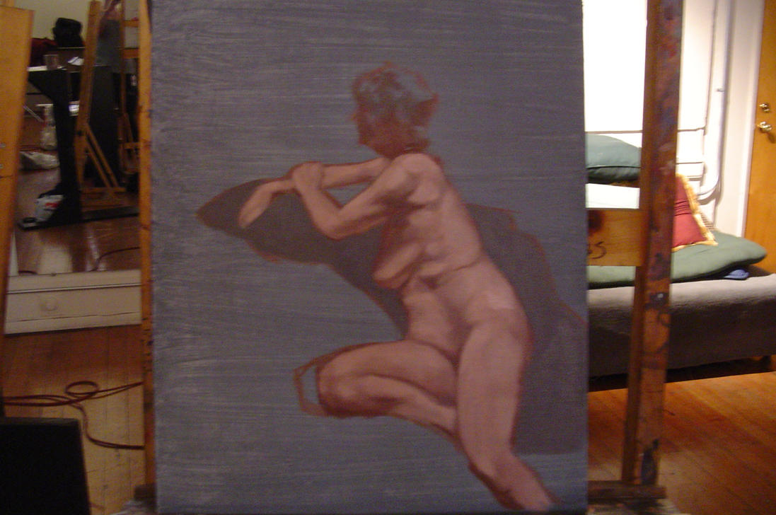 Female Nude Study 101
