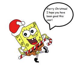 Spongebob's Christmas dance by MorgsterGolderngirls